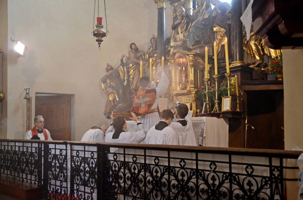Msza św. w klasycznym rycie rzymskim