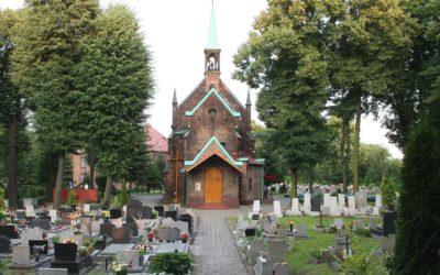 Cmentarz przy parafii pw. św. Małgorzaty