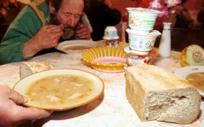 Jadłodajnia dla biednych i bezdomnych przy parafii pw. WNMP